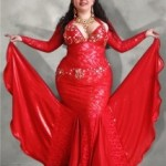 Inspiration: Cabaret costume in red lace