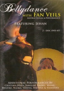 Belly Dance with Fan Veils DVD cover